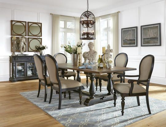 The Cambria Dining Collection Has A Vintage Mood That Invites You To Gather Round With Room ArtTrestle