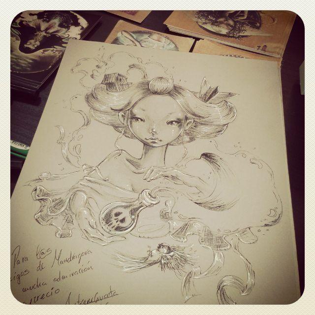 M s de 1000 im genes sobre ilustraciones en pinterest - La mandragora malaga ...