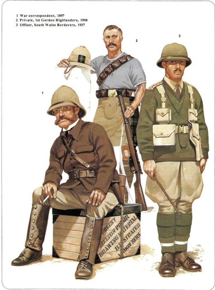 Colonial Soldiers Uniform 34