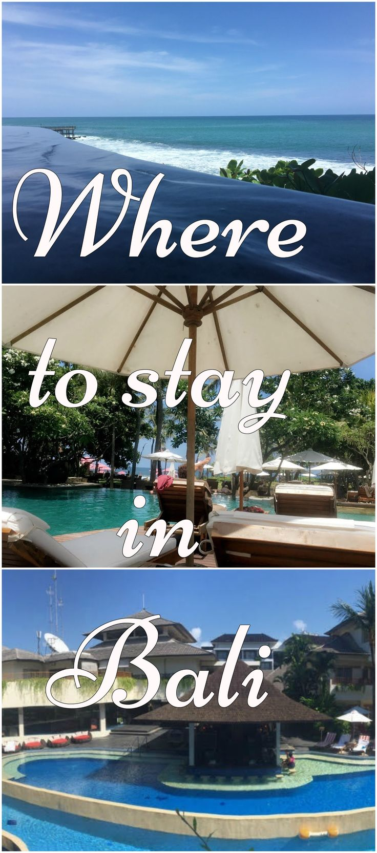 In this blog post you will read about Where to stay in Bali Indonesia / Where to eat in Bali / Bali activities / Bali accommodation / Bali Attractions / Infinity Pools / Rooftop Bars in Bali / Beautiful Bali /