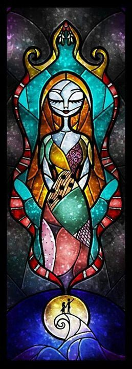 Cross stitch pattern  Disney  Sally Skellington  by XStitchAddict
