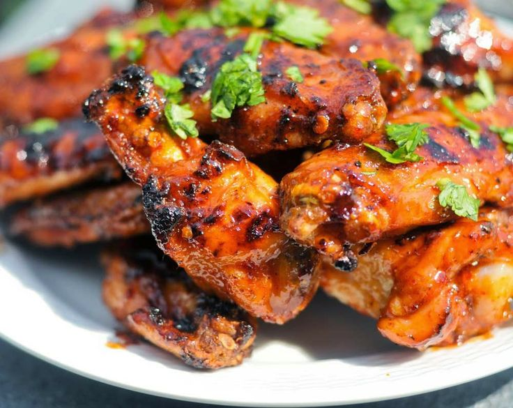 Paradise Read: Sweet and Spicy Baked Chicken Wings Recipe