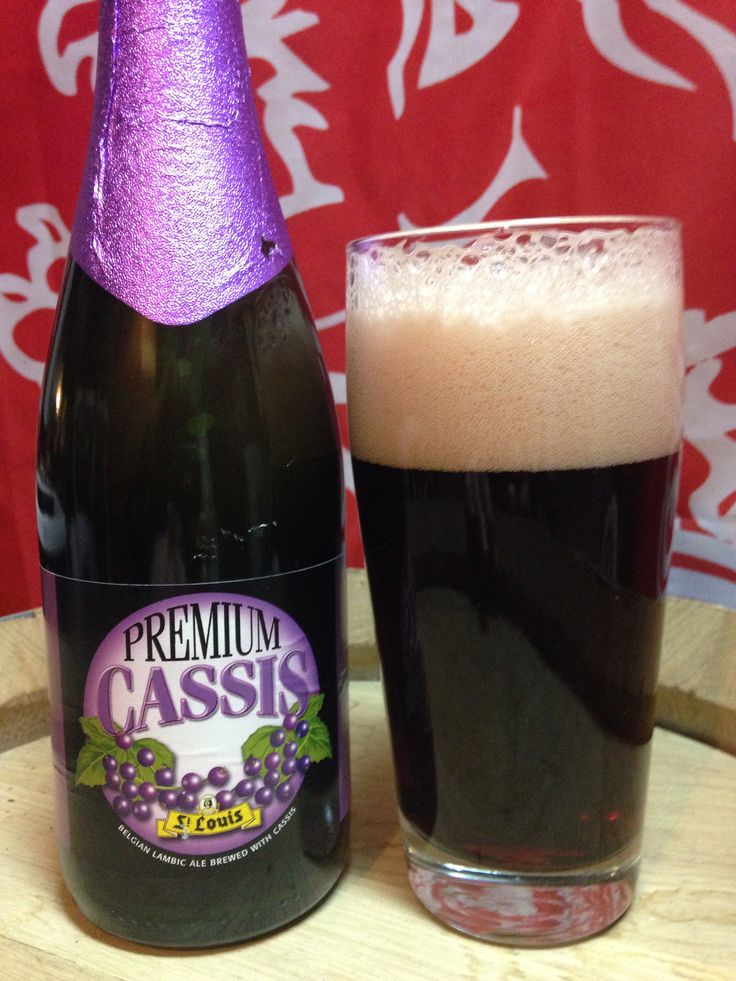 St. Louis Cassis Lambic. I don't recommend this one, very buttery and overly oaky and really unpleasant #craftbeer