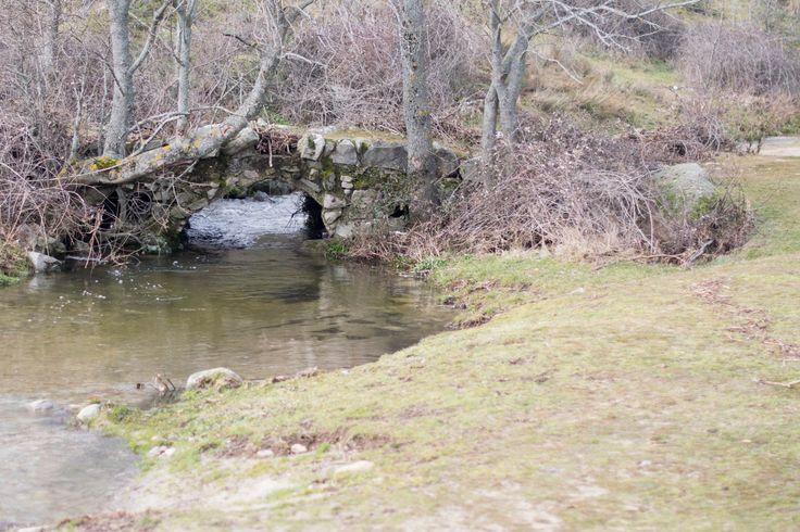 Puente en el camino desde #ElBoalo a #Mataelpino, en el Parque Nacional de la Sierra de Guadarrama.