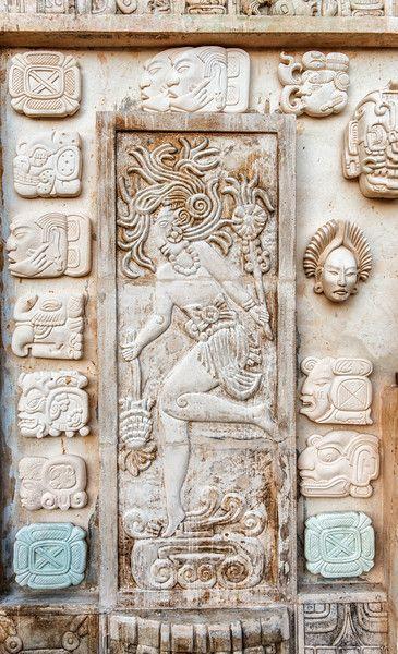 Mayan art Alfredo Gonzalez