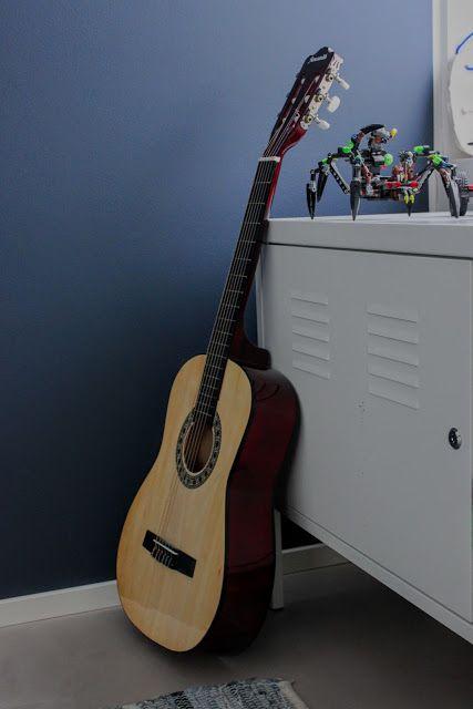 TIkkurila M429 KOTI: Lastenhuoneen värejä ja sisustusta.