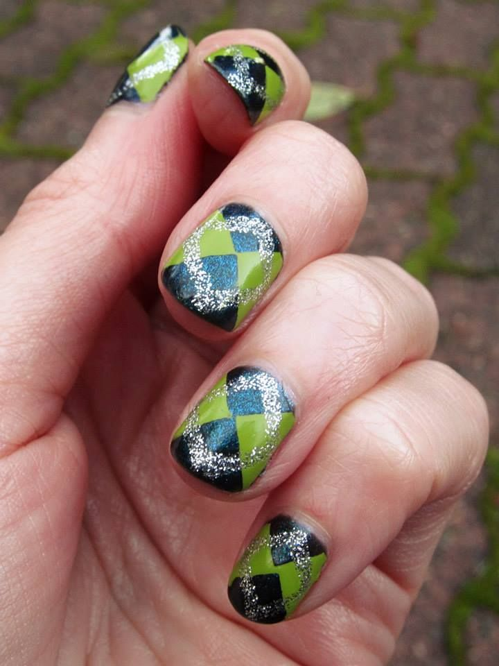246 best Seahawks Nail and Make-Up images on Pinterest | Seahawks ...
