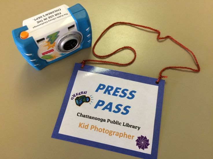 Visual literacy in the library // Photography fun for kids!