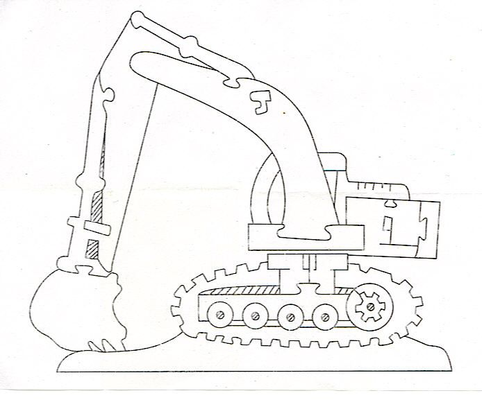 excavator jigsaw puzzle solution       craftypuzzles