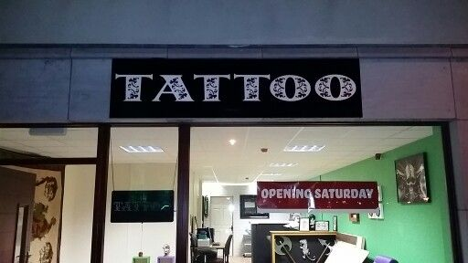 3D letters sign for Tattoo Studio done & dusted ☆