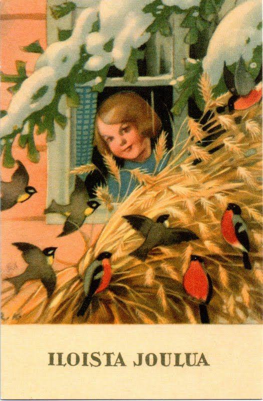 Rudolf Koivu (Finnish 1890-1946) - Vintage Christmas Card