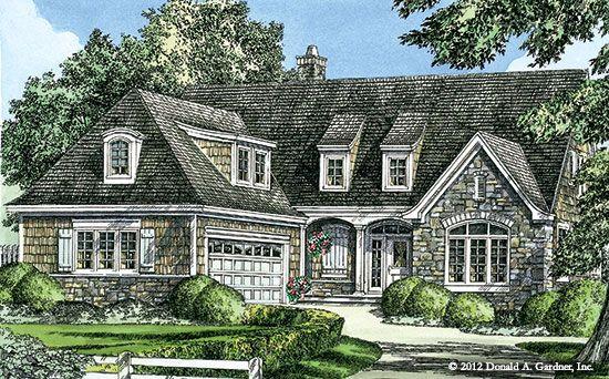 The Tristan Cottage Home Design #1311