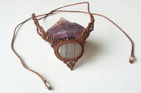 Check out this item in my Etsy shop https://www.etsy.com/nz/listing/528074400/handmade-macrame-necklace-jewellery
