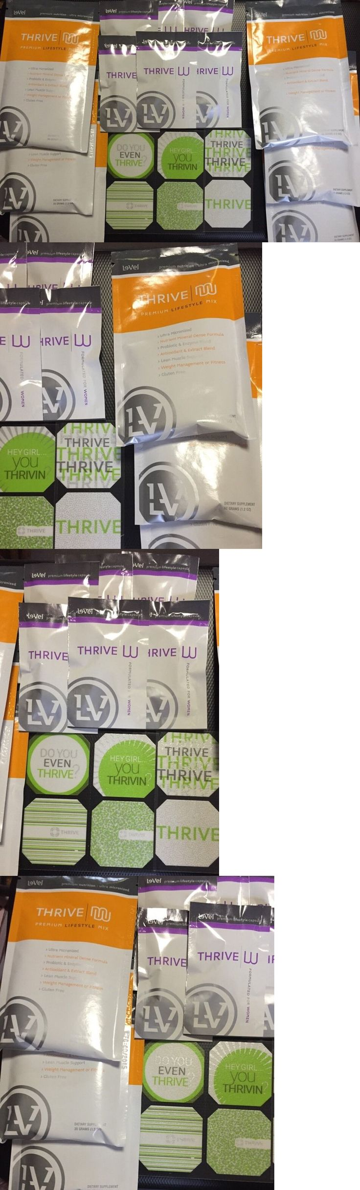 Fat Burners: Thrive Le-Vel Pack-6 Each Shakes,6 Pills,6 Patches Fresh/Factory Original Ex2017 BUY IT NOW ONLY: $40.0