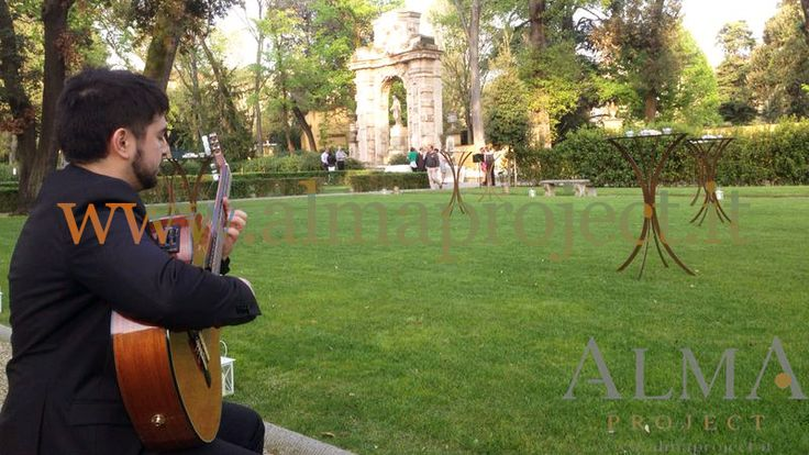 ALMA PROJECT @ Four Seasons Hotel Florence - Duomo Lawn - Guitar Solo - Garden - daylight