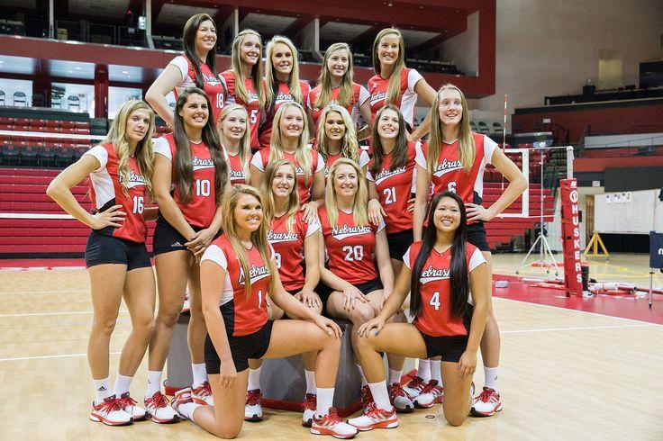 University of Nebraska Volleyball Photo Day Volleyball