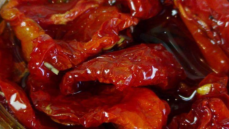 Вяленые томаты. Как вялить помидоры.