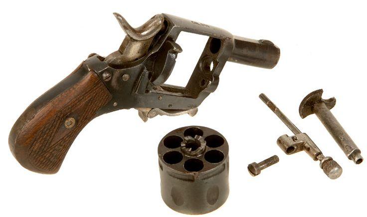 Obsolete Calibre British Bulldog Style Revolver