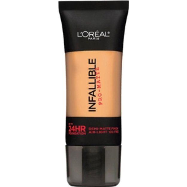 L'Oréal Paris Infallible Pro-Matte Up to 24 Hr Demi-Matte Finish Foundation