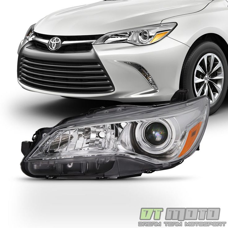 Cool Awesome 2015 2016 2017 Toyota Camry LE/XLE Halogen Headlight Headlamp Left Driver Side 2018