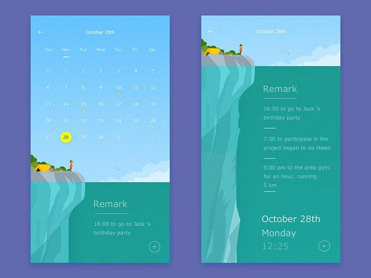 interface design by Shan Zi #Design Popular #Dribbble #shots