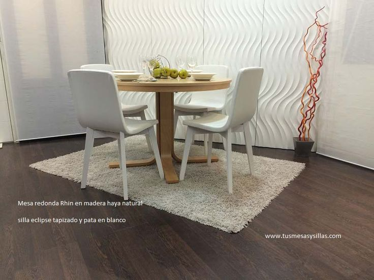 Mejores 39 im genes de adana la mesa de estilo nordico for Mesa redonda de madera para cocina