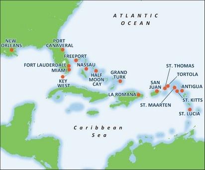 Eastern Caribbean Cruise Ours Was San Juan St Thomas