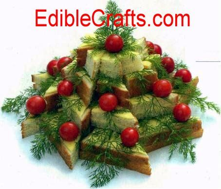 209 best christmas tree images on pinterest unusual for Appetizer decoration