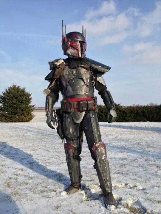 Vhett Naast, Mandalorian from the Nexu Clan