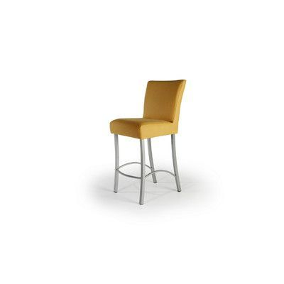 Createch Angle Side Chair Metal Finish: Textured Black, Upholstery: Impulse 8006