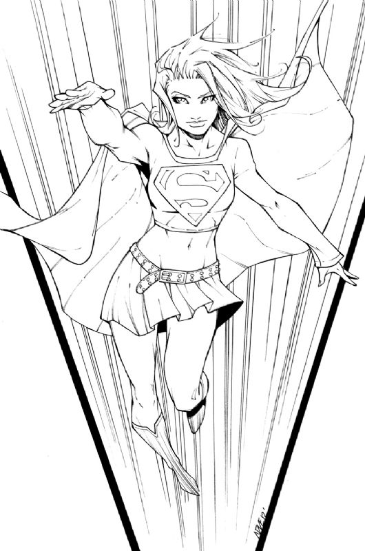supergirl by oliver nome