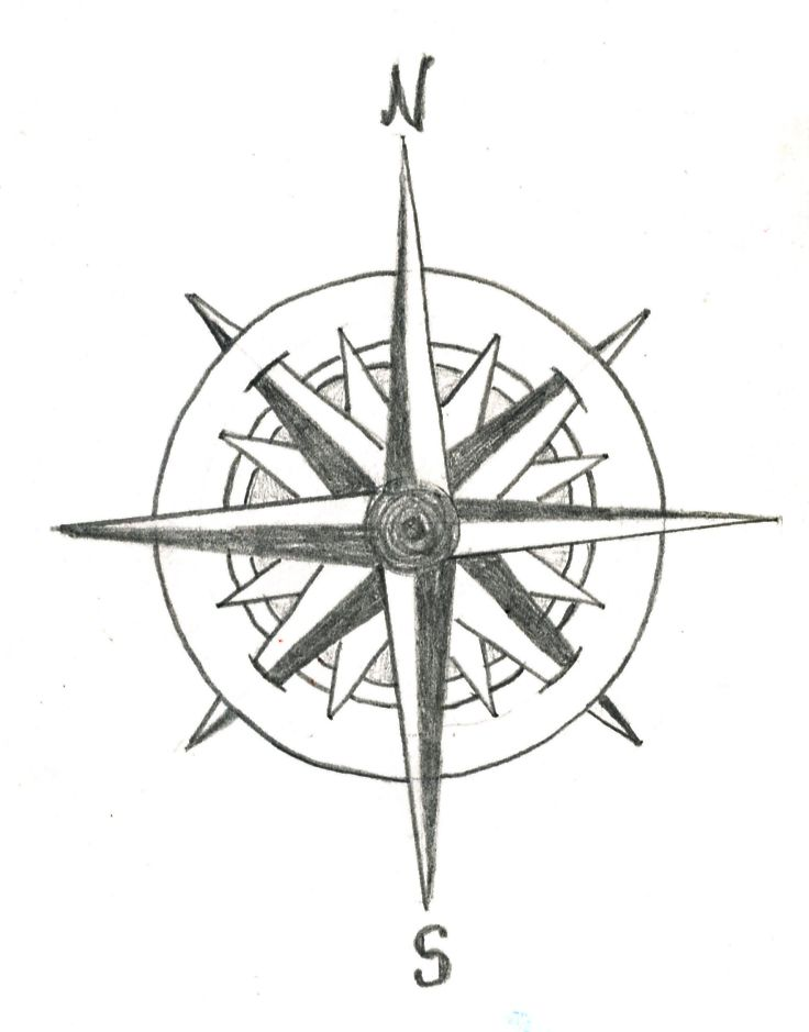190 best Tattoos - Compass Rose images on Pinterest