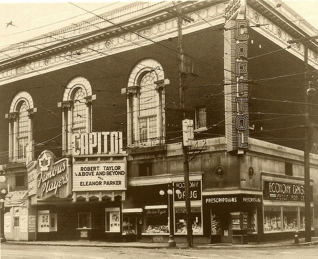 The grande dame of Ottawa movie theatres. Bank and Queen, 1953 Gone since 1971.