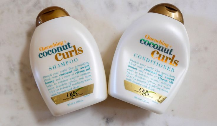 OGX Quenching Conconut Curls
