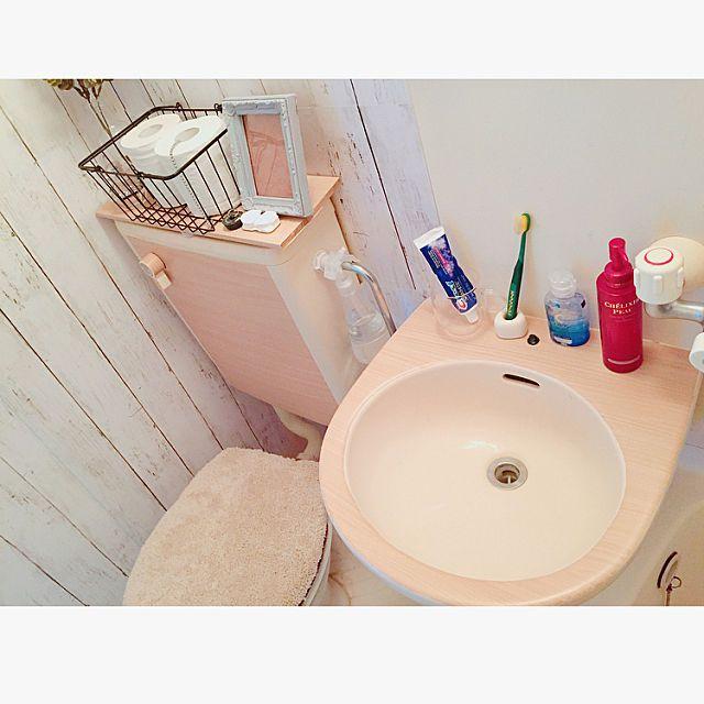 Saamさんのbathroom 100均 ワンルーム ユニットバス セリア 6畳 バス