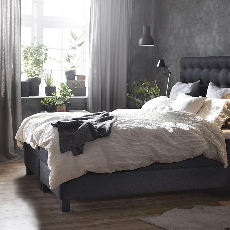 IKEA VALLAVIK kontinentalsäng