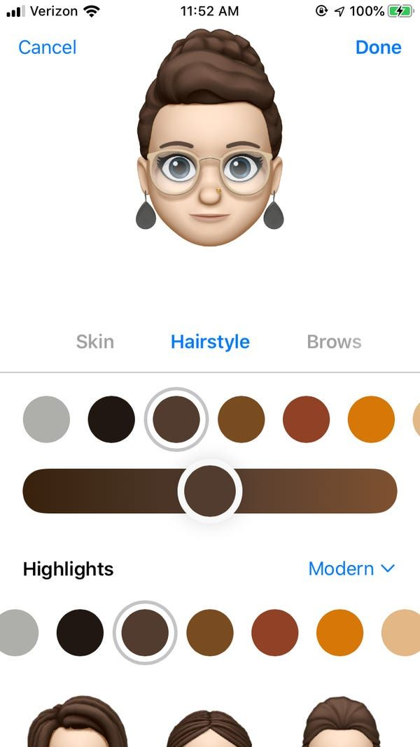 How To Make A New Additional Memoji On Your Iphone And Send A Variety Of Customized Moving Emojis In 2020 Iphone Messaging App How To Make