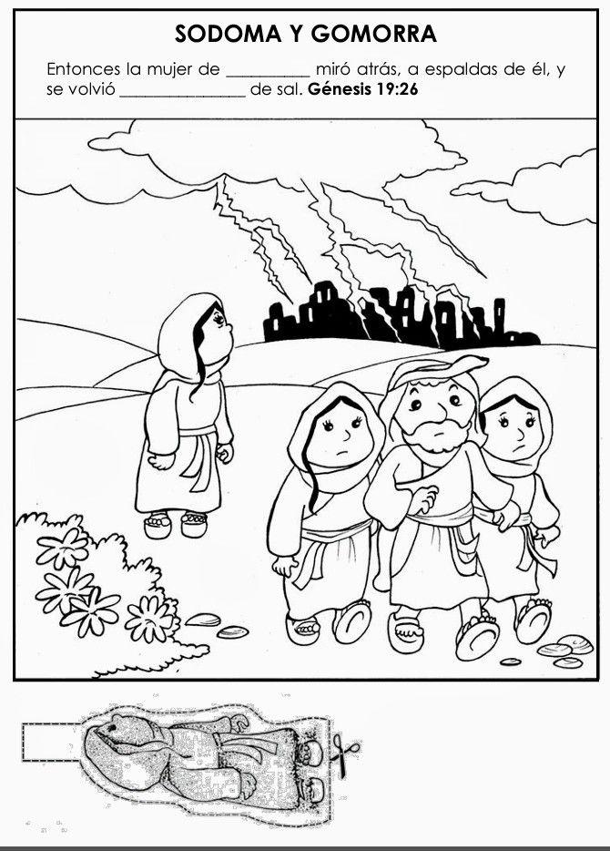 Sodoma Y Gomorra Historias De La Biblia Para Niños Lecciones Bíblicas Para Niños Biblia Para Niños