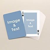 printerstudio.com will make you a deck of playing cards with up to 108 photos on front/back of cards. Only $7.99. I am totally doing this.