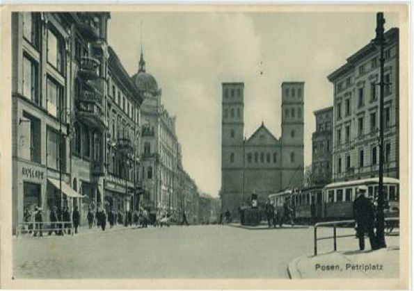 ul. Półwiejska Poznań