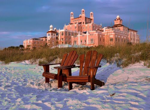 """Don Cesar Hotel, St Petersburg, FL.... on the many vacations to st pete as a child, my dad would always drive me by the """"pink"""" hotel, i looks just like it did 35 years ago.... such great memories"""