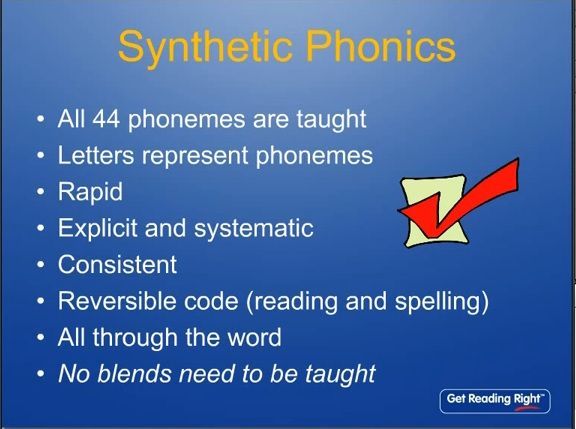 Free synthetic phonics teacher training on youtube