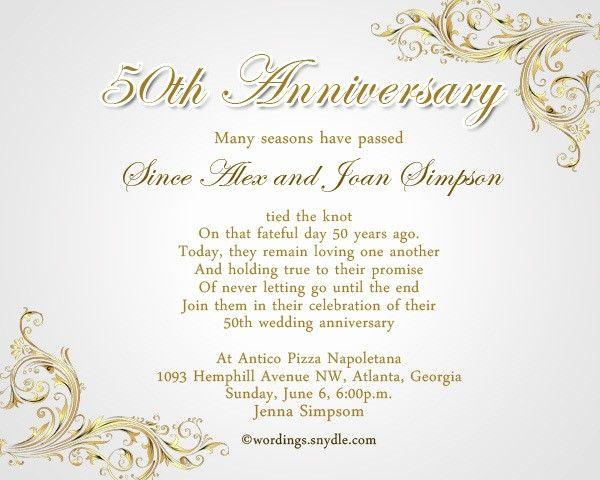 50th Wedding Anniversary Invitation Template Unique 50th Wedd In 2020 50th Wedding Anniversary Invitations 50th Anniversary Invitations Wedding Anniversary Invitations