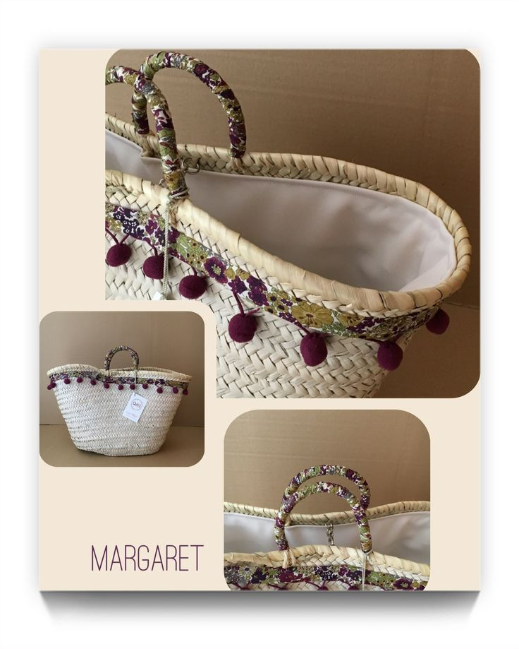 MARGARET. Spanish Capazo design by Cuqui Miluki 2017