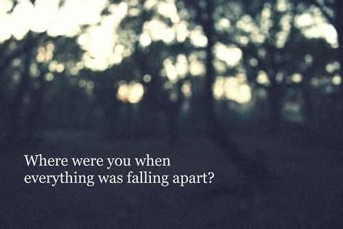 the fray lyrics | the fray # lyrics # where were you # falling apart