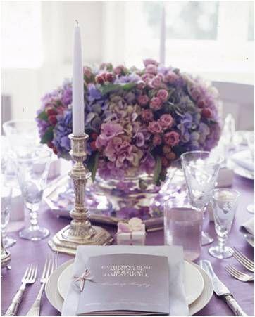 Para noivas mais delicadas, lilás e rosa são os tons perfeitos! Além de serem super atuais!