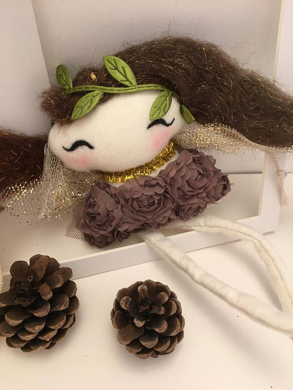 Christmas ornaments / handmade / fairy / nursery / decor /