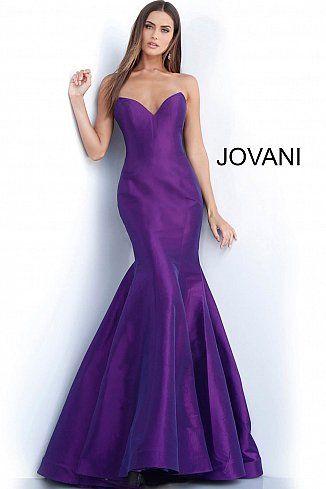 b59046dde61 Purple Sweetheart Neckline Mermaid Prom Dress 67412