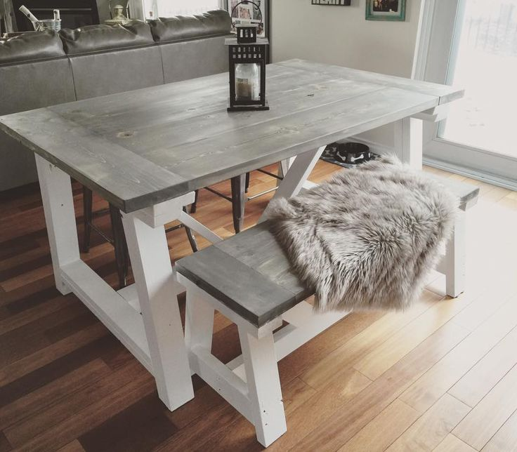 Charming Rustic Home Decor | Ana White | DIY | Shanty 2 Chic | Rustic | Shabby · Dining  Table ... Ideas