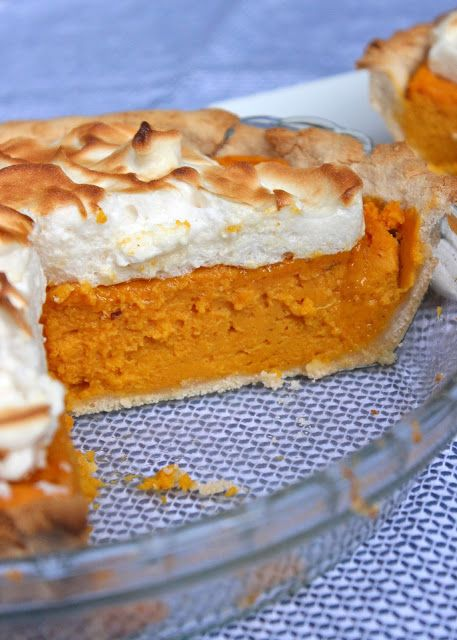 Paleo Sweet Potato Meringue Pie | Things I must eat or have eaten | P ...